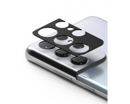 Protectie Camera Alminiu Ringke Styling  Pentru Samsung Galaxy S21 Ultra, Negru