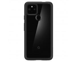 Husa Premium Originala Spigen Ultra Hybrid Pentru Google Pixel 4a 5G, Transparenta Cu Margine Neagra