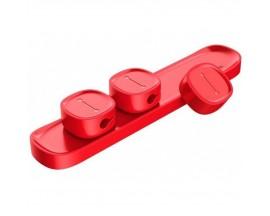 Organizator Magnetic Pentru Cabluri Premium Baseus Red
