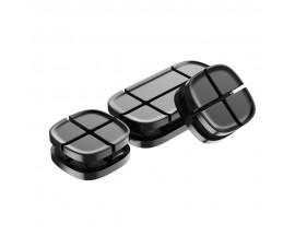 Organizator Magnetic Pentru Cabluri Premium Baseus Negru