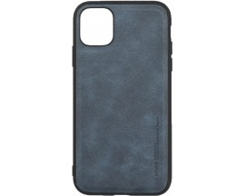 Husa Slim Premium X-level Earl 3 Series Compatibila cu Iphone 11, Dark Blue