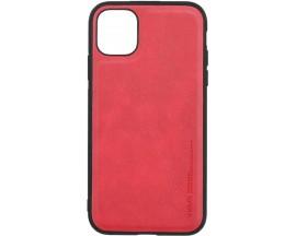 Husa Slim Premium X-level Earl 3 Series Compatibila cu Iphone 11, Rosu