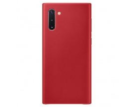 Husa Slim Premium X-level Thin Membrane Compatibila cu Samsung Note 10, Rosu
