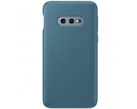 Husa Slim Premium X-level Thin Membrane Compatibila cu Samsung Galaxy S10e, Albastru