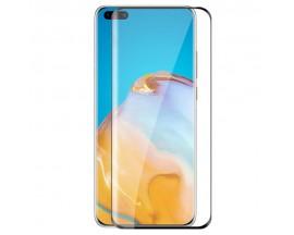 Folie Sticla Securizata Upzz Rinbo Full Glue Pentru Huawei Mate 40 Pro, Adeziv Pe Toata Suprafata - Case Friendly