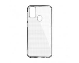 Husa Upzz Clear Case 2mm Compatibila cu Samsung Galaxy A21s, Transparent