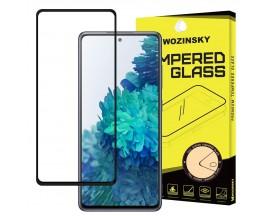 Folie Sticla Full Cover Full Glue Wozinsky Pentru Samsung Galaxy A72, Cu Adeziv Pe Toata Suprafata Foliei Neagra