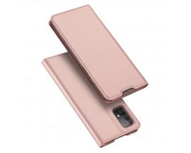 Husa Premium Flip Cover DuxDucis Skin Pro Compatibila Cu Samsung Galaxy A52 / A52 5G, Roz