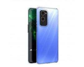 Husa Spate Upzz Slim Case Compatibila Cu OnePlus 9 Pro, Silicon 0.5mm Grosime, Transparenta