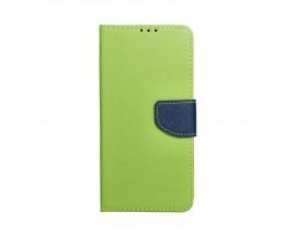 Husa Flip Carte Upzz Fancy Book Compatibila Cu Xiaomi Mi 10T Lite 5G, Verde