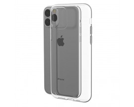Husa Upzz Clear Case 2mm Compatibila cu Iphone 11 Pro Max, Transparent