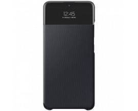 Husa S-View Wallet Book Samsung Compatibila Cu Samsung Galaxy A32 4G, Cu Display Inteligent, Negru