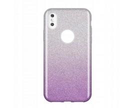 Husa Spate Wozinsky Glitter Compatibila Cu Huawei P30 Lite, Purple