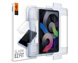 Folie Sticla Securizata Premium Spigen Glas.Tr Ez Fit Compatibila Cu iPad Air 4 2020, Transparenta
