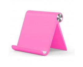 Suport Birou Upzz Tech Compatibil Cu Telefoane si Tablete, Roz - Z1