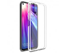 Husa Spate Slim Upzz Pentru Huawei Nova 5T, 0.5mm Grosime, Silicon, Transparenta
