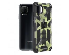 Husa Spate Upzz Tech Blazor Compatibila Cu Huawei P40 Lite, Camo