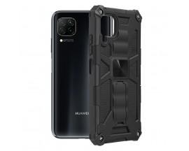 Husa Spate Upzz Tech Blazor Compatibila Cu Huawei P40 Lite, Negru