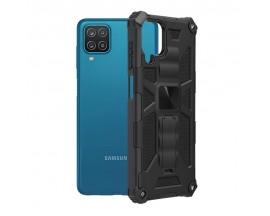 Husa Spate Upzz Tech Blazor Compatibila Cu Samsung Galaxy A12, Negru