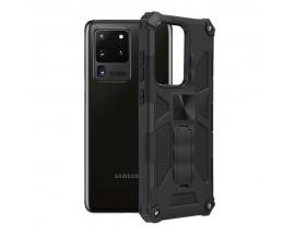 Husa Spate Upzz Tech Blazor Compatibila Cu Samsung Galaxy S20 Ultra, Negru