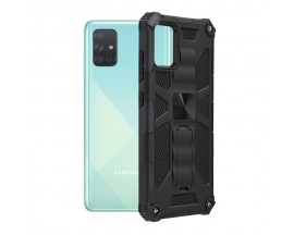 Husa Spate Upzz Tech Blazor Compatibila Cu Samsung Galaxy A51, Negru