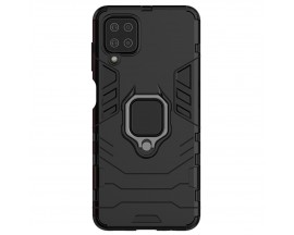 Husa Spate Upzz Ring Armor Hybrid Samsung Galaxy A12 , Negru