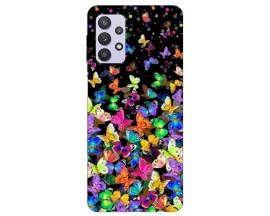 Husa Silicon Soft Upzz Print Compatibila Cu Samsung Galaxy A32 4g Model Colorature