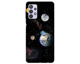 Husa Silicon Soft Upzz Print Compatibila Cu Samsung Galaxy A32 4g Model Earth