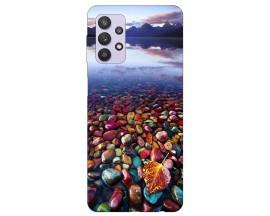 Husa Silicon Soft Upzz Print Compatibila Cu Samsung Galaxy A32 4g Model Leaf