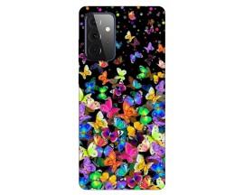 Husa Silicon Soft Upzz Print Compatibila Cu Samsung Galaxy A72 Model Colorature