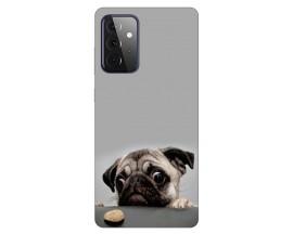 Husa Silicon Soft Upzz Print Compatibila Cu Samsung Galaxy A72 Model Dog