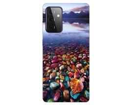 Husa Silicon Soft Upzz Print Compatibila Cu Samsung Galaxy A72 Model Leaf