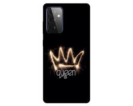 Husa Silicon Soft Upzz Print Compatibila Cu Samsung Galaxy A72 Model Queen