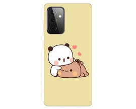 Husa Silicon Soft Upzz Print Compatibila Cu Samsung Galaxy A72 Model Teddy