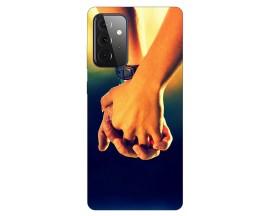 Husa Silicon Soft Upzz Print Compatibila Cu Samsung Galaxy A72 Model Together