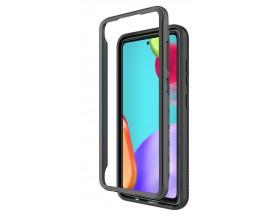 Husa Upzz TechSuit Defense 360 Compatibila Cu Samsung Galaxy A72, Folie Protectie Inclusa, Negru