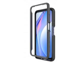 Husa Upzz TechSuit Defense 360 Compatibila Cu Xiaomi Mi 10T Lite, Folie Protectie Inclusa, Negru