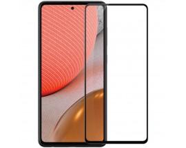 Folie Protectie Ecran Hybrid Upzz Ceramic Full Glue Pentru Samsung A72 / A72 5G, Transparenta Cu Margine Neagra