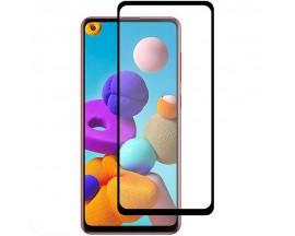 Folie Protectie Ecran Hybrid Upzz Ceramic Full Glue Pentru Xiaomi Mi 10T 5G / Mi 10T Pro 5G, Transparenta Cu Margine Neagra