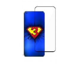 Folie Sticla Securizata 3Mk Compatibila Cu Xiaomi Mi 11 5G, Transparenta Cu Margini Negre - Hard Glass