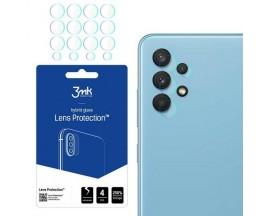 Folie Sticla Nano Glass 3mk Pentru Camera Compatibila Cu Samsung Galaxy A32 4G, Transparenta, 4 Buc In Pachet