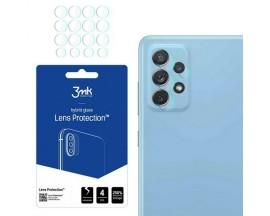 Folie Sticla Nano Glass 3mk Pentru Camera Compatibila Cu Samsung Galaxy A72 4G / A72 5G, Transparenta, 4 Buc In Pachet