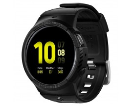 Curea Ceas Spigen Rugged Armor Pro Compatibila Cu Samsung Galaxy Watch Active 2 44mm , Silicon, Negru
