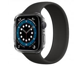 Husa Protectie Ceas Spigen Thin Fit Compatibila Cu Apple Watch 4 / 5 / 6 / Se ( 44mm ), Transparenta
