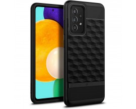 Husa Premium Caseology By Spigen Parallax Compatibila Cu Samsung Galaxy A72 / A72 5G, Negru