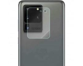 Folie Sticla Nano Glass Pentru Camera Upzz Compatibila cu Samsung Galaxy S20 Ultra, Transparenta