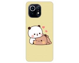 Husa Silicon Soft Upzz Print Compatibila Cu Xiaomi Mi 11 Model Teddy