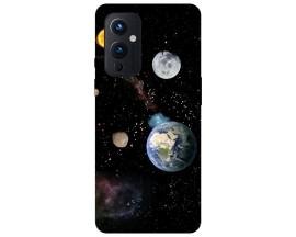 Husa Silicon Soft Upzz Print Compatibila Cu OnePlus 9 Model Earth