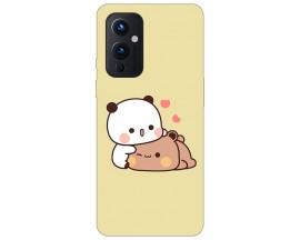 Husa Silicon Soft Upzz Print Compatibila Cu OnePlus 9 Model Teddy