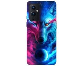 Husa Silicon Soft Upzz Print Compatibila Cu OnePlus 9 Model Wolf